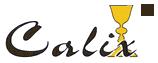 Logo Naczynia liturgiczne, relikwiarze Calix – wykonanie i odnawianie sprzętu liturgicznego