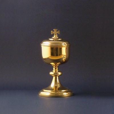 Gilded ciborium