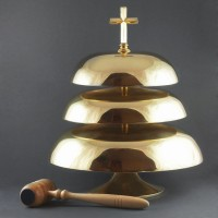 Three-tier gong