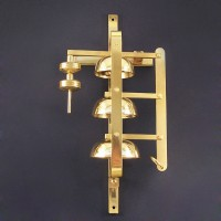 Brass sacristy bells