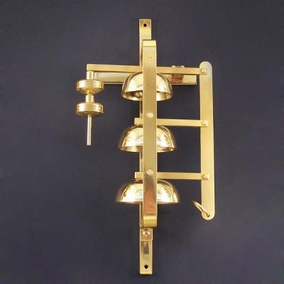 Brass sacristy bells