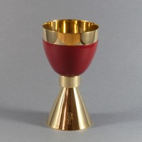 Gilded chalice